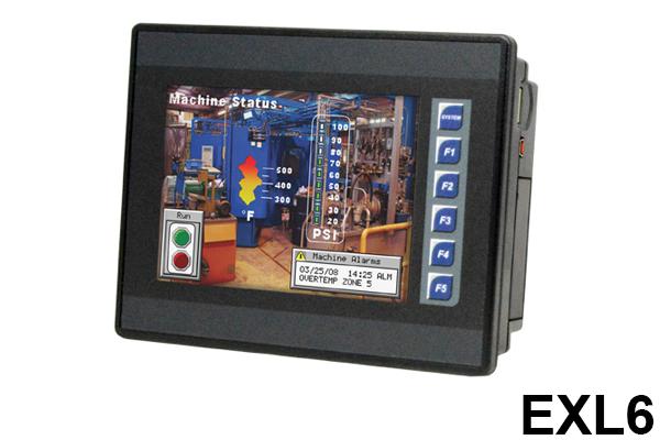 Controlador EXL6, Serie XL, Controlador todo en uno / Controller EXL6, XL Series, All-in-One Controllers / Horner Automation Group / Horner APG