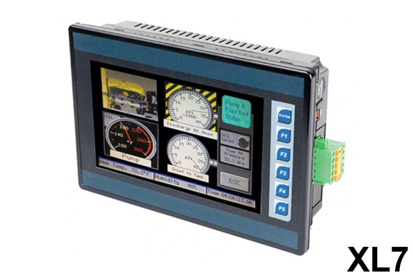 Controlador XL7, Serie XL, Controlador todo en uno / Controller XL7, XL Series, All-in-One Controllers / Horner Automation Group / Horner APG