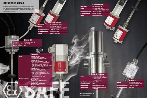 Instrumentación, Sensor Industrial / Instrument, Temposonic, MTS Sensors, Industrial Sensor, R Serie, G Serie, GB Serie, E Serie, C Serie, T Serie