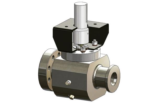 Válvula de Muñon Montado, Alta Presión, Baja presión, Inconel, / Trunnion Mounted Valve, High Pressure, Low Pressure