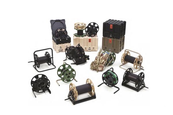 Fibra óptica, carretes, MARS, sistema modular avanzado de carretes / optical fiber, reels, modular advanced reel system